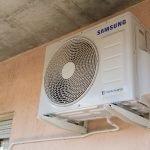 climatizzatore Samsung Windfree un. esterna 12000-BTU