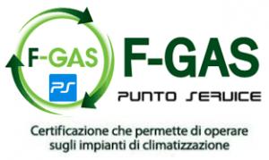 Certificazione F-GAS Punto Service