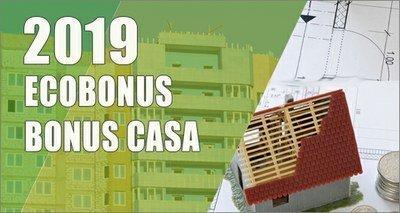 Detrazioni fiscali per l'efficienza energetica 2019-Ecobonus-Bonus Casa