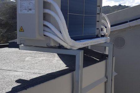 climatizzatore Daikin un. esterna staffata a muro