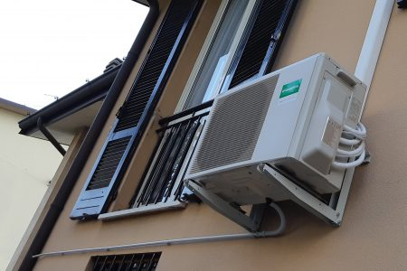 climatizzatore Fujitsu-General un. esterna Dual Split 14000-BTU