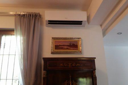 installazione ultimata-prova di funzionamento climatizzatore Fujitsu-General